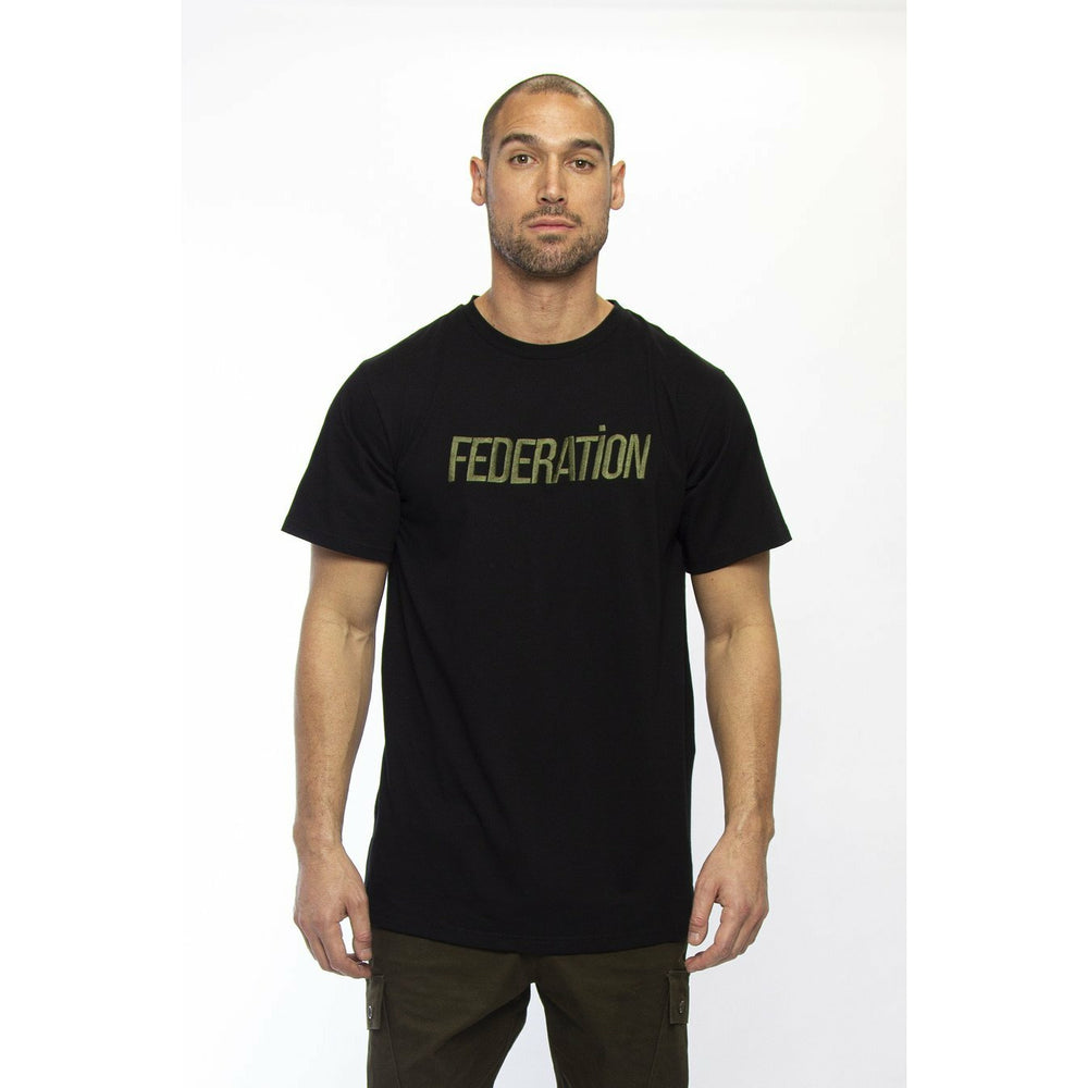 Federation Look (Lean) Tee - Black