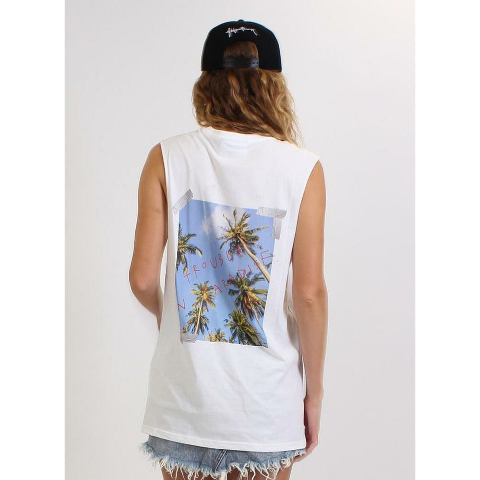 Federation Minute/Chill Tank - White