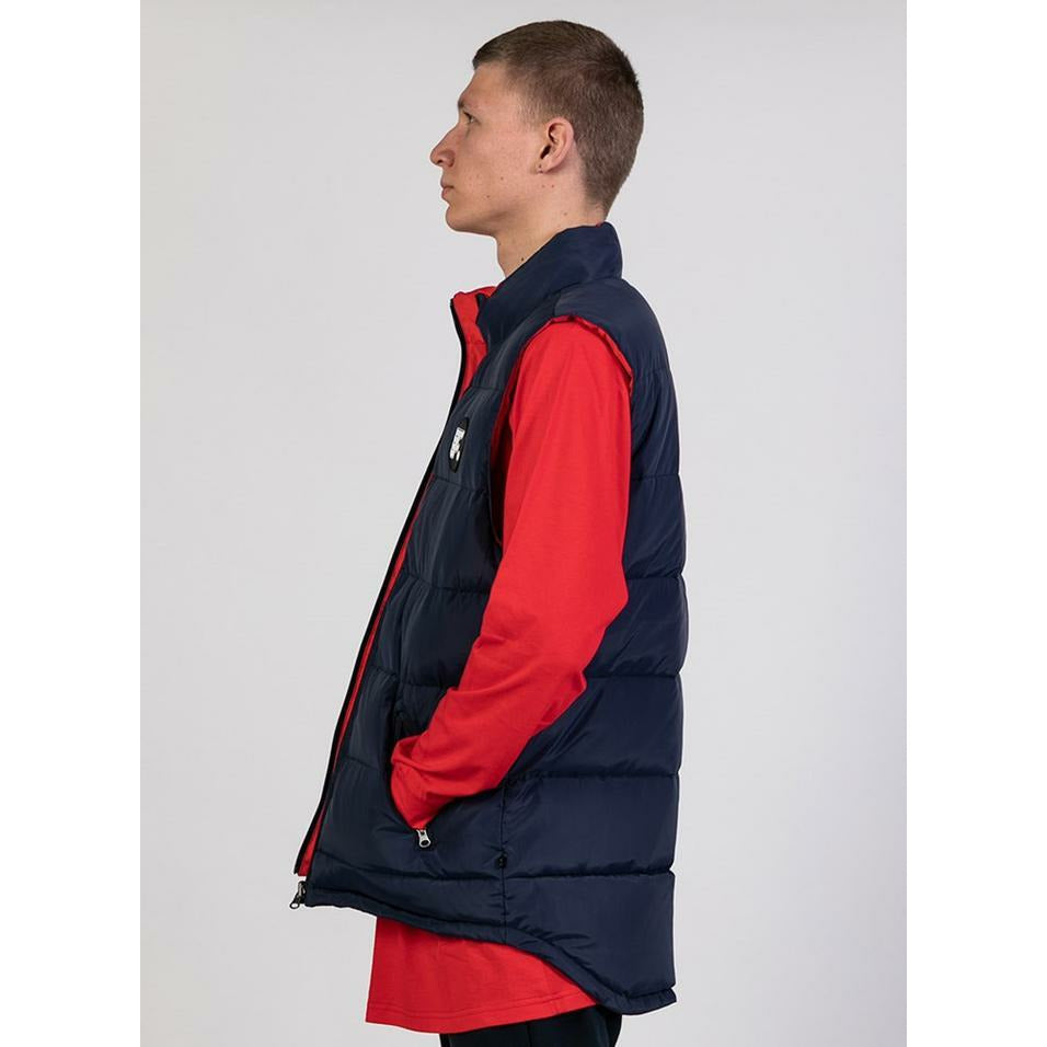 Federation Puff Vest - Navy