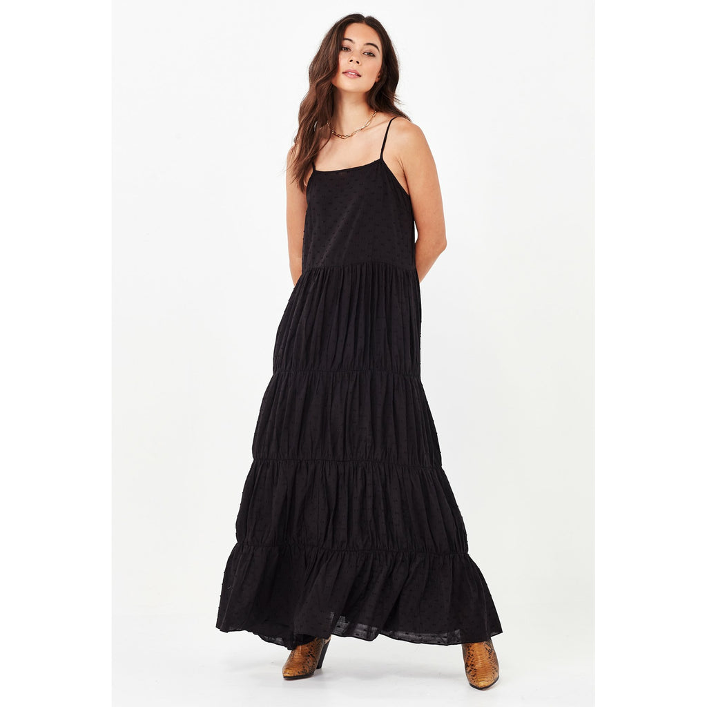 Remain Yasmin Maxi Dress - Black