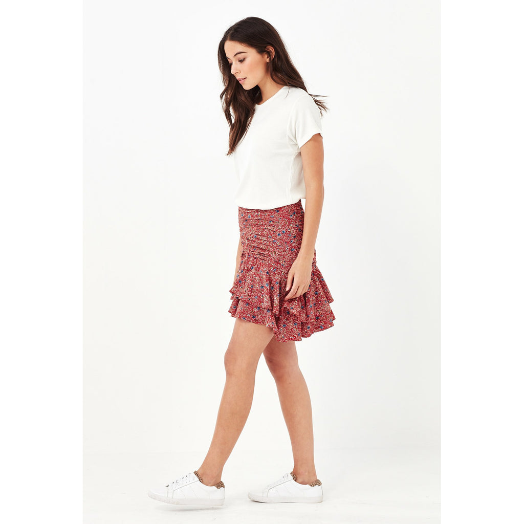 Remain Florence Mini Skirt - Red Meadow