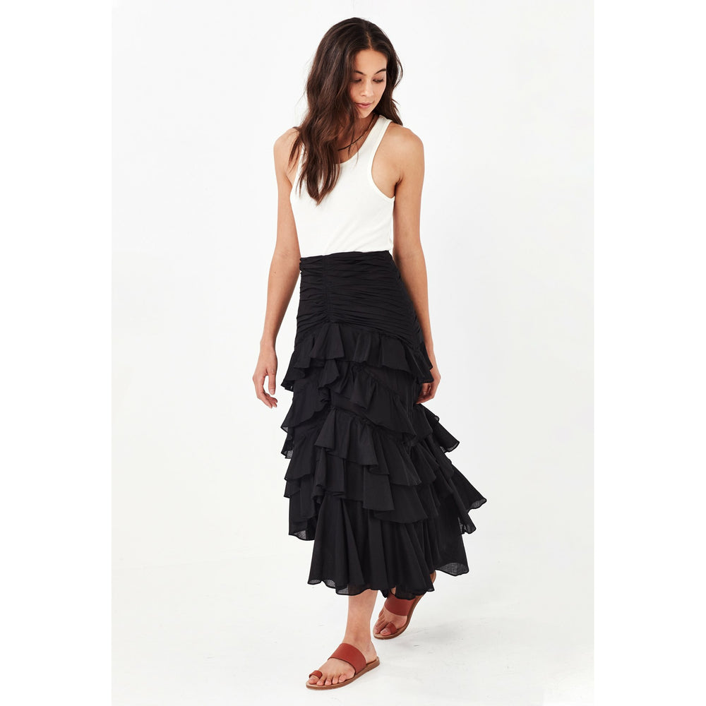 Remain Florence Maxi Skirt - Black