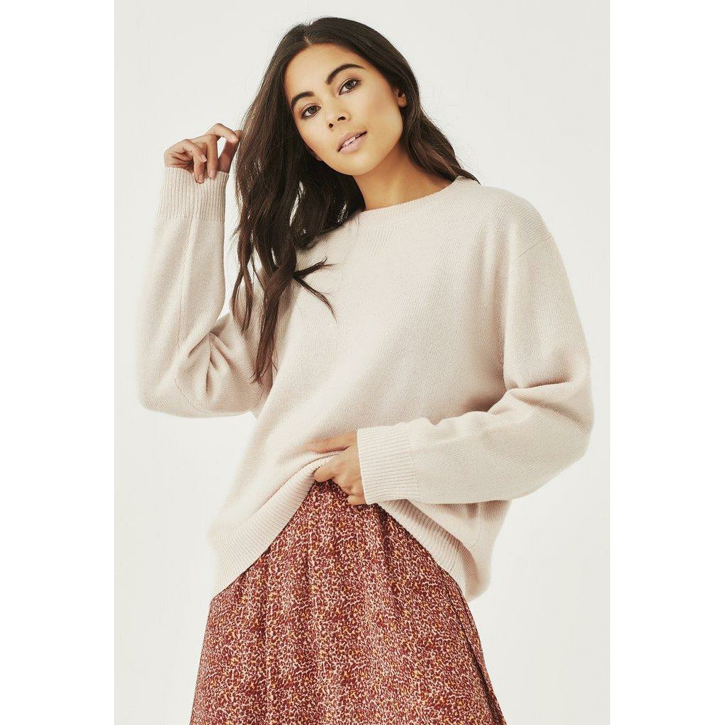 Remain Ella Knit - Pink Marle