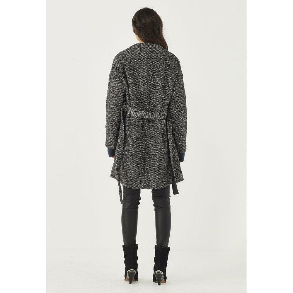 Remain Wrap Jacket - Grey Fleck