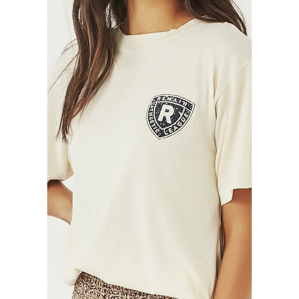Remain Athletic Club Tee - Ivory