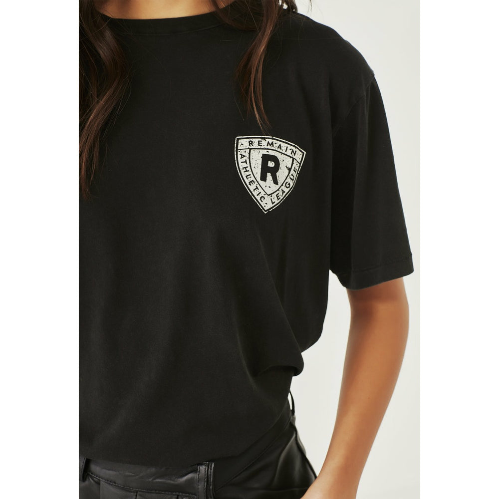 Remain Athletic Club Tee - Aged Black
