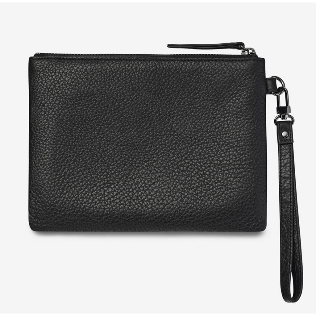 Status Anxiety Fixation Wallet - Black