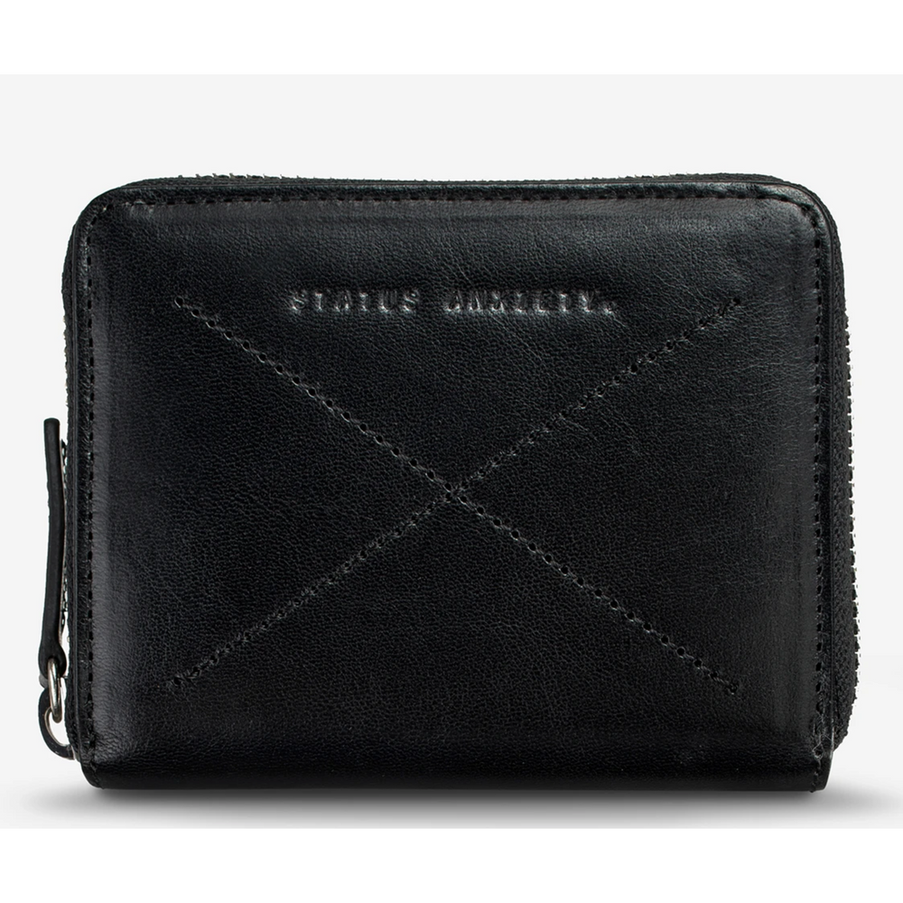 Status Anxiety Darius Wallet - Black
