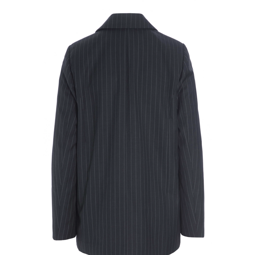 Raiine Carey Blazer - Charcoal Pin