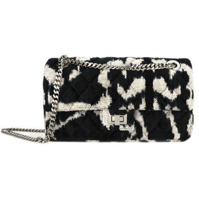 Rough Studios Velvet La Bandita Bag - Black/Beige