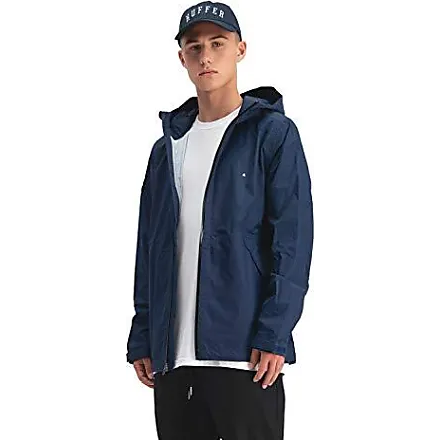 Huffer Mens 2.5L HFR Colour Rainshell - Indigo