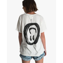 One Teaspoon Paradise City Boyfriend Tee - White