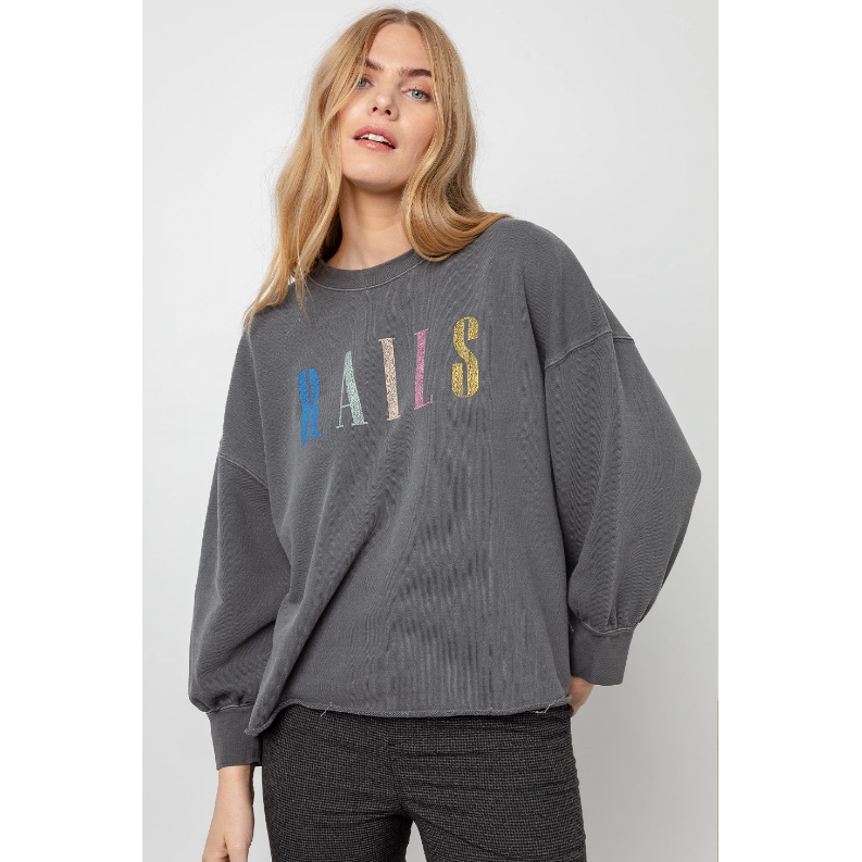 Rails Reeves Signature Sweatshirt - Vintage Black