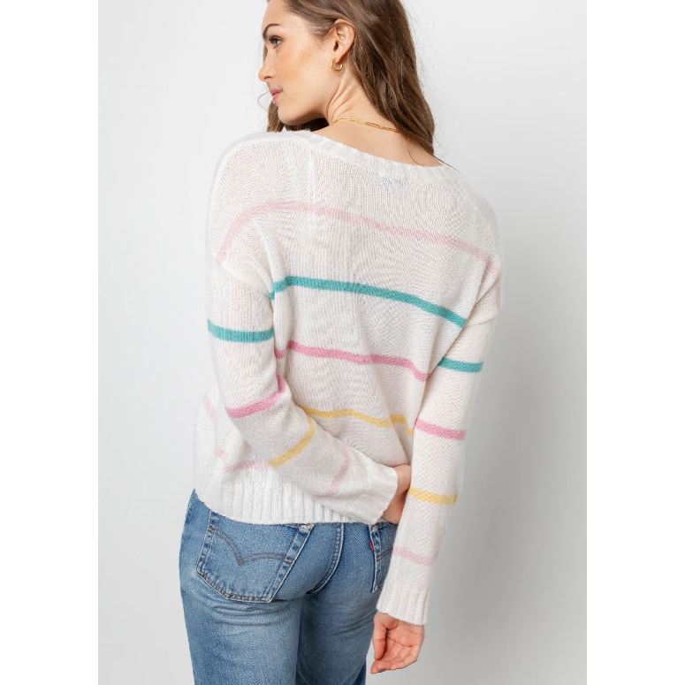 Rails Perci Sweater - Sorbet Stripe