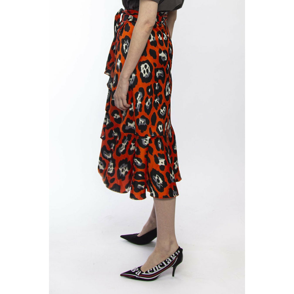Federation Wrap Me Skirt - Fire