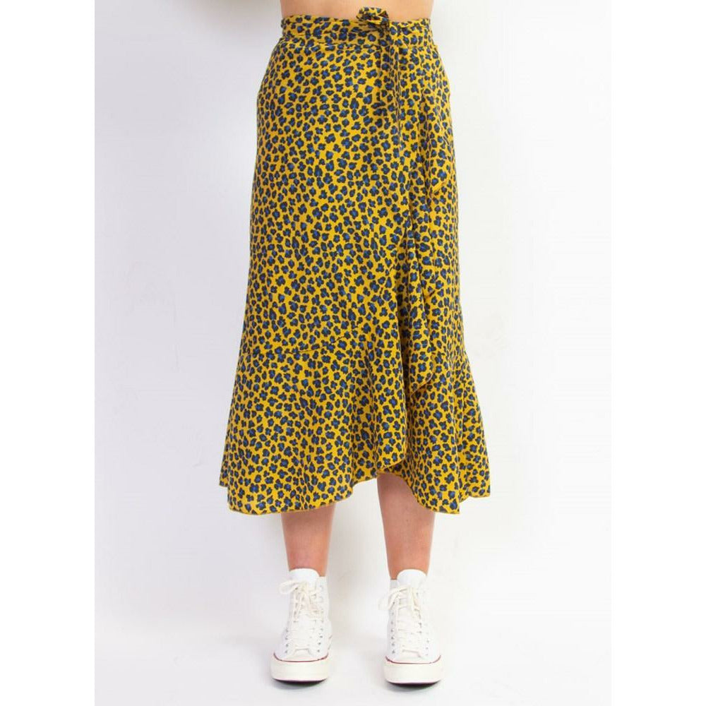 Federation Wrap Me Skirt - Leopard