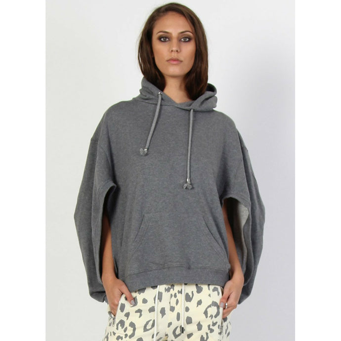 Federation The Sweat Cape - Charcoal