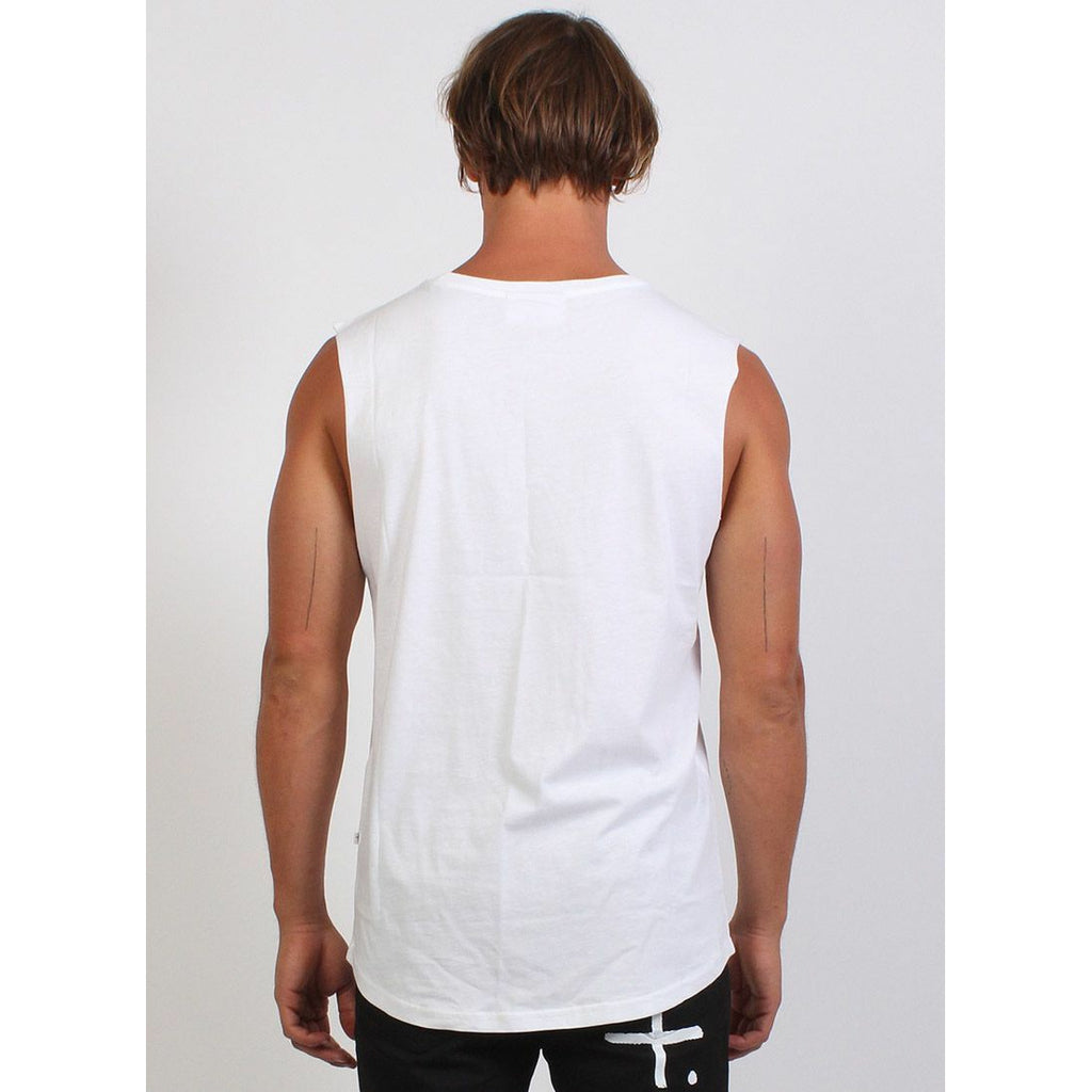 Federation Atlas (Circles) Tank - White