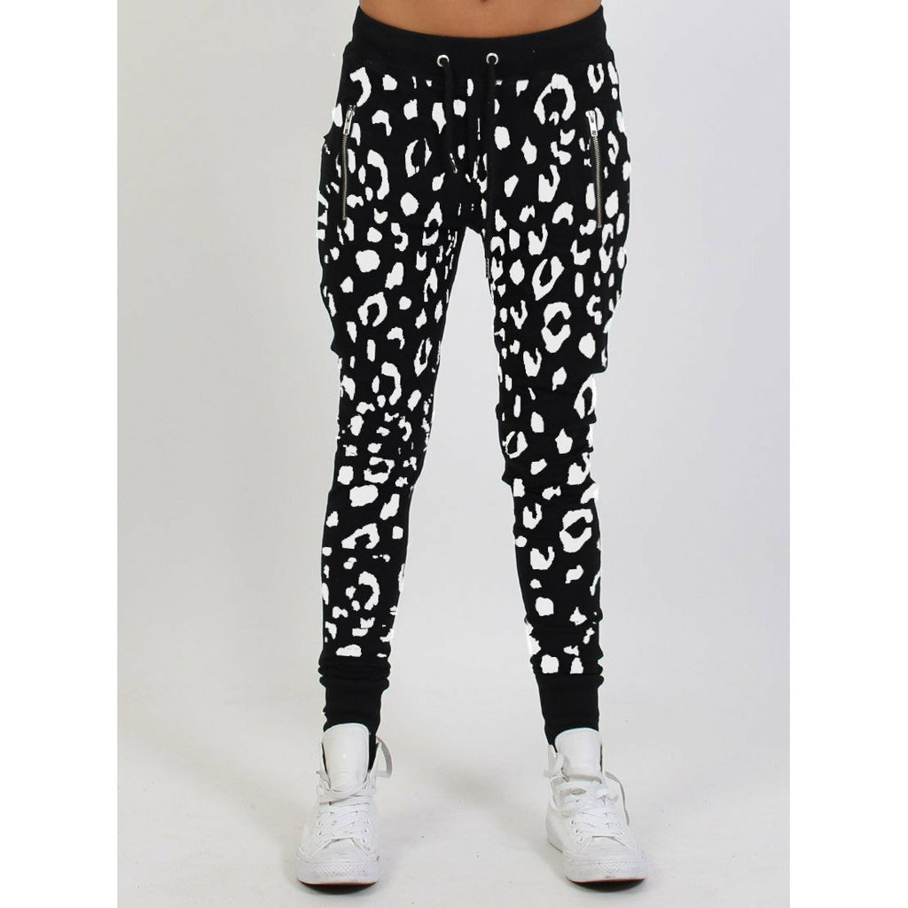 Federation Escape Trackies - Black Leopard