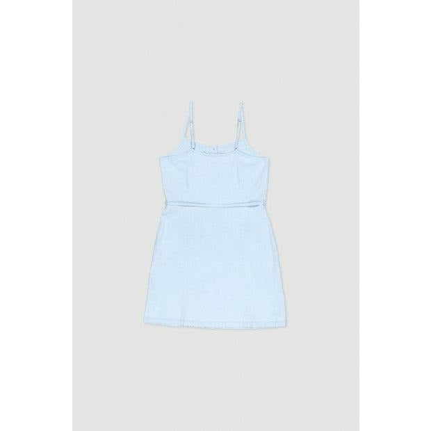 Huffer Chambray Lucy Dress - Blue