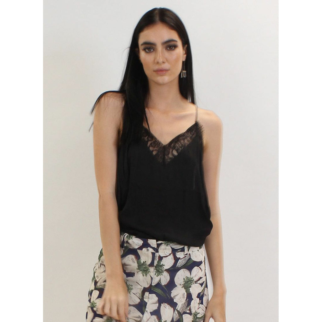 Somekind In the Clouds Cami - Black