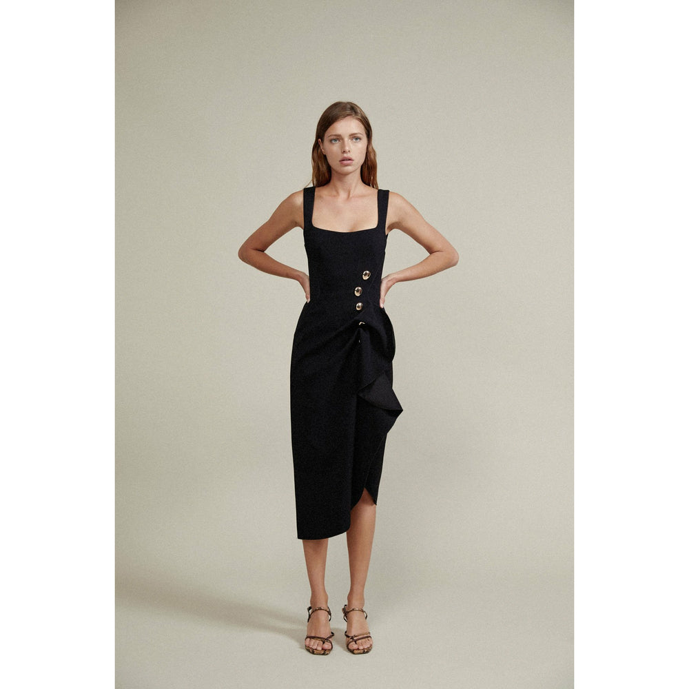 Acler Thistle Dress - Black