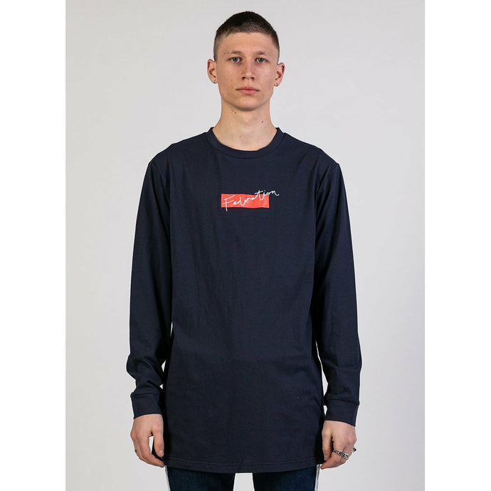 Federation LS Supreme Cuff/Friend - Navy