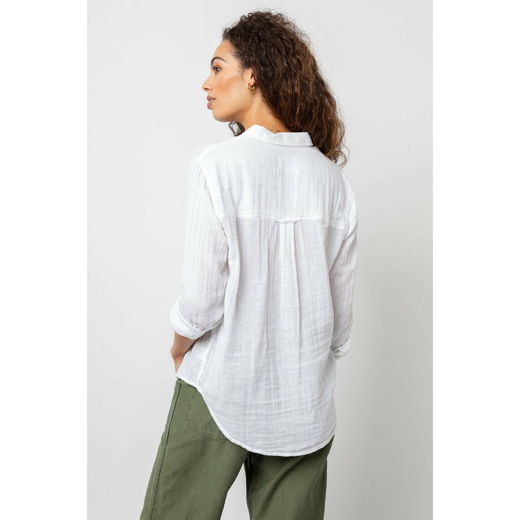 Rails Ellis Shirt - White