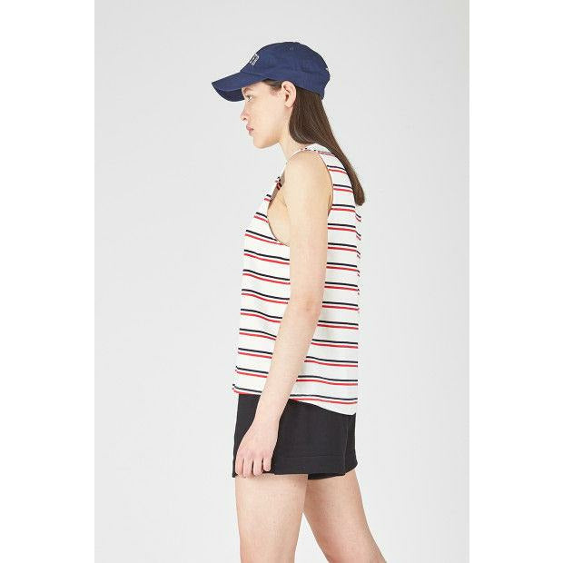 Huffer Fresh Club Tank - Navy/Red
