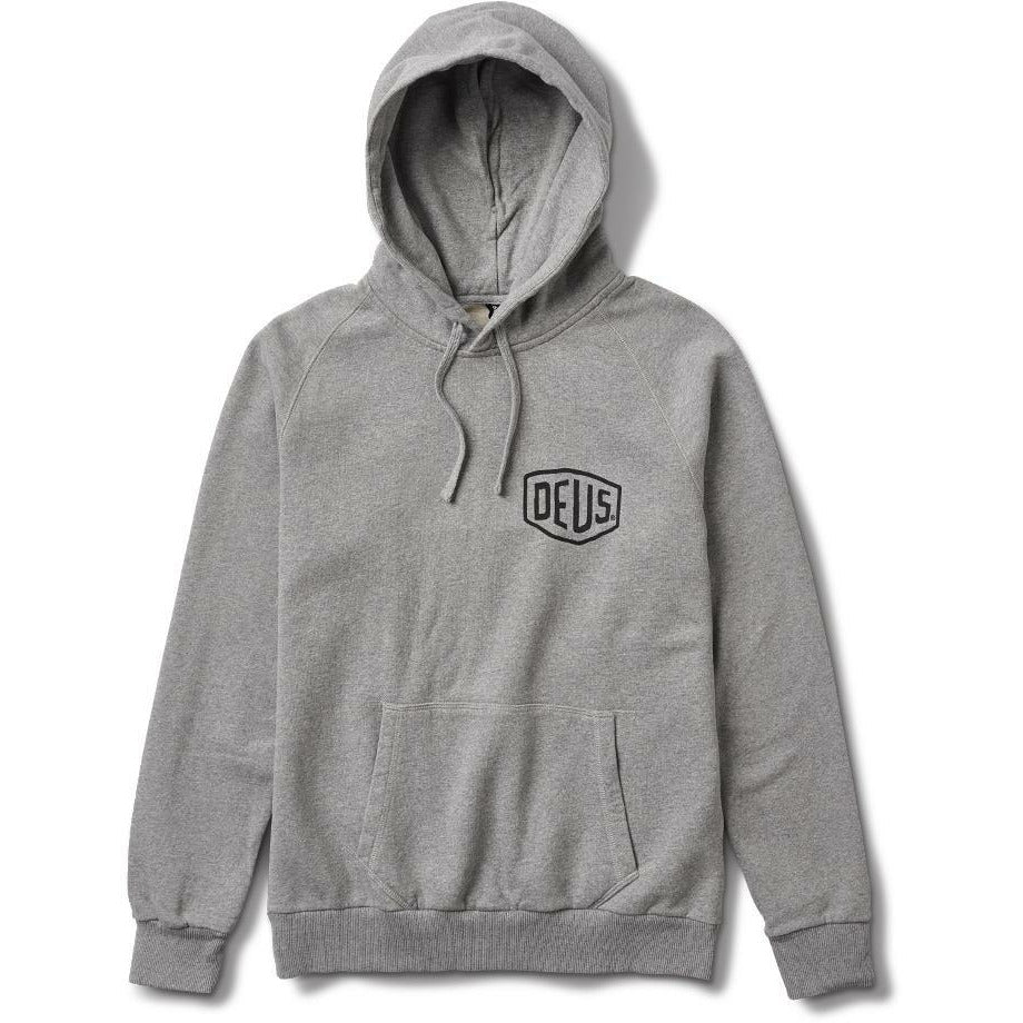 Deus Milano Address Hoodie - Grey Marle