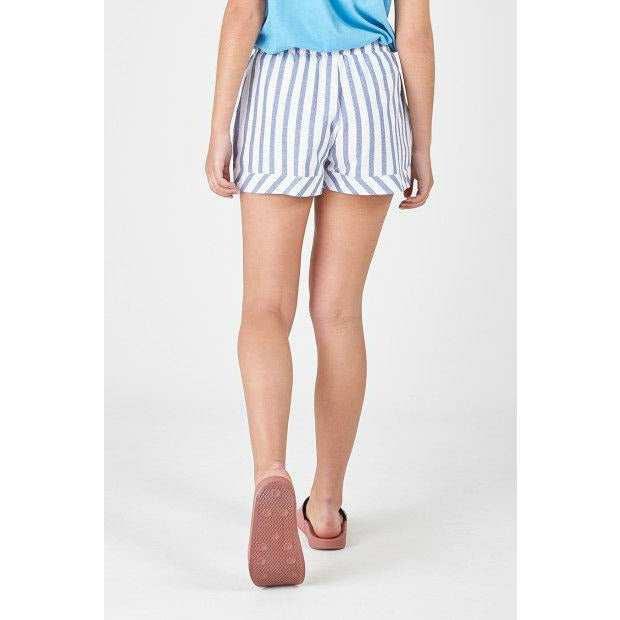 Huffer Hooper Skipper Short - Blue/White