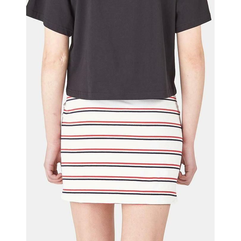 Huffer Fresh Blondie Skirt - Navy/Red