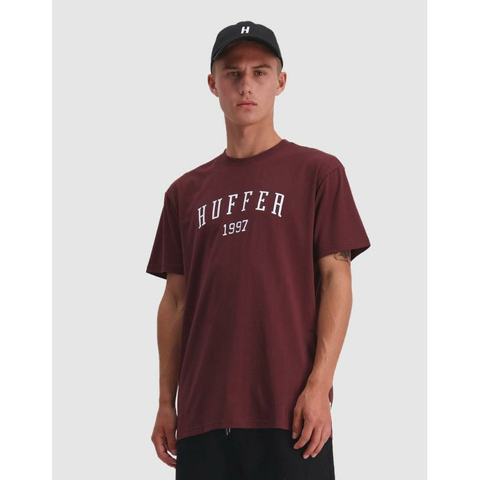Huffer Sup Tee/HFR Colour - Rum