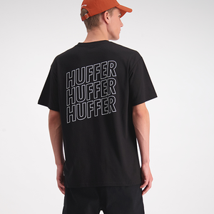 Huffer Sup Staked Out Tee - Black
