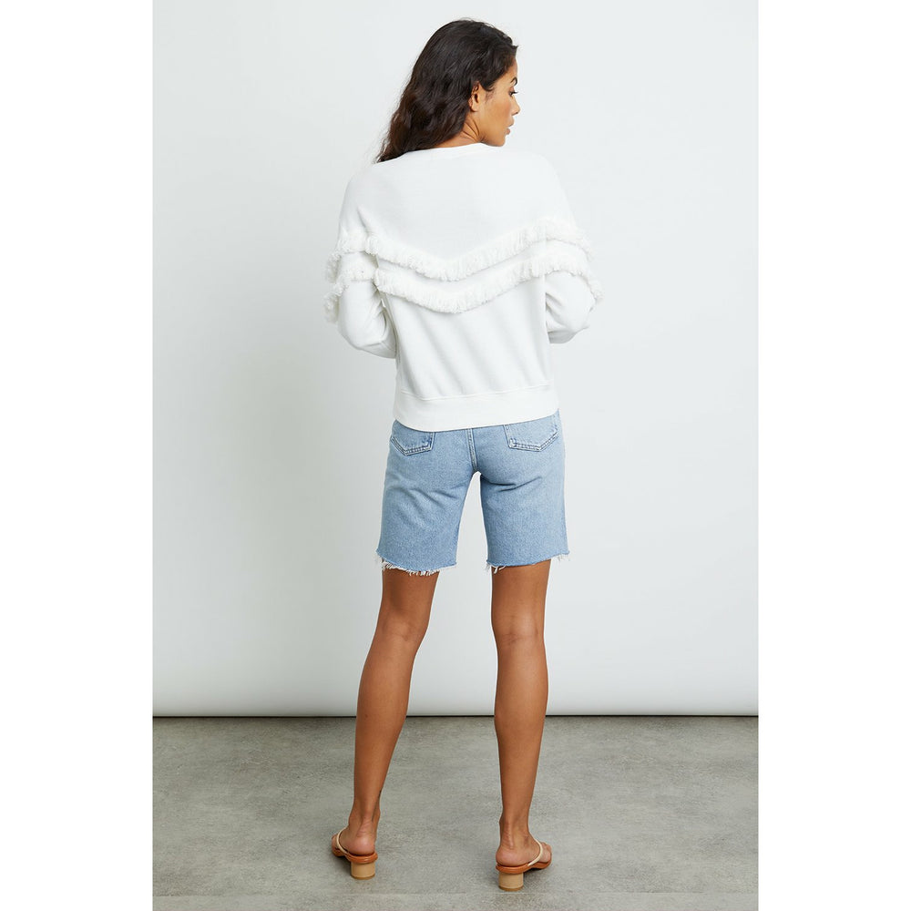Rails Kinsey Sweatshirt - White