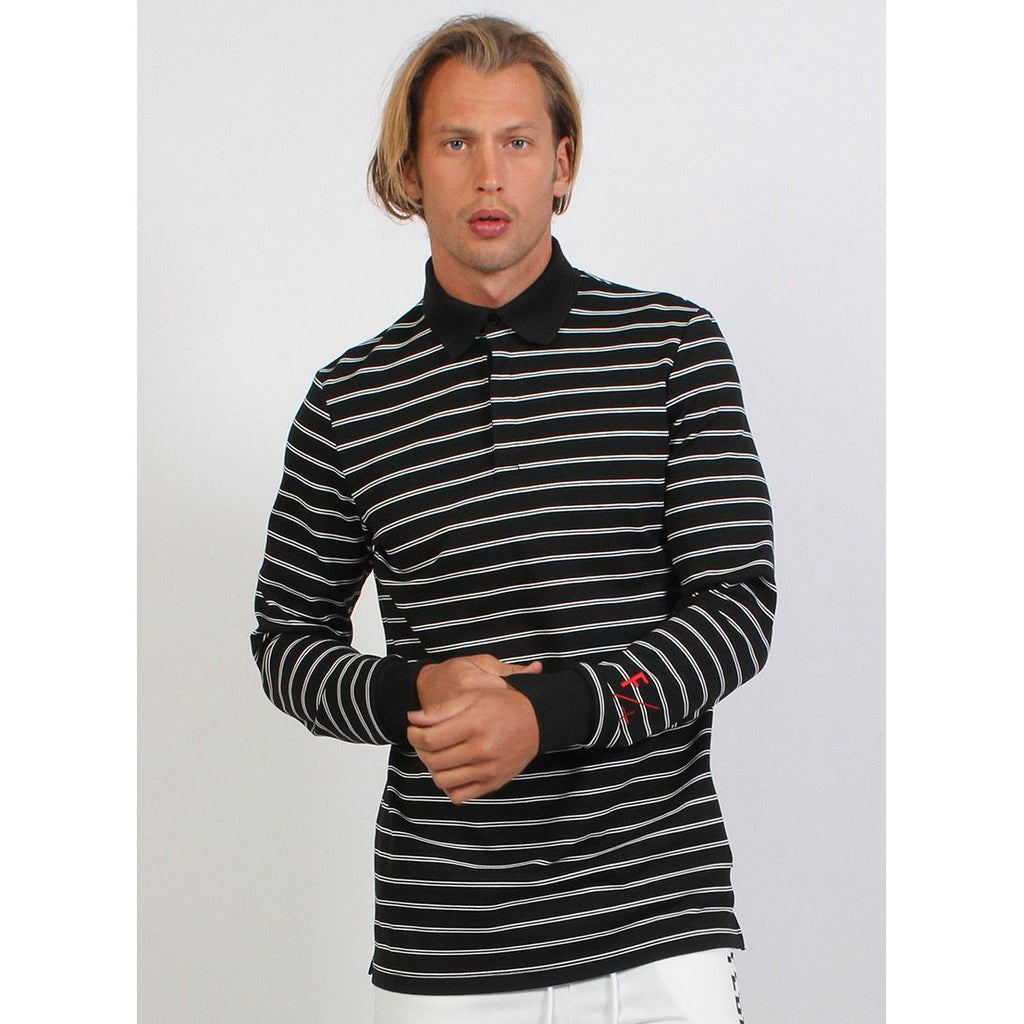 Federation LS Marco Polo - Black/White Stripe