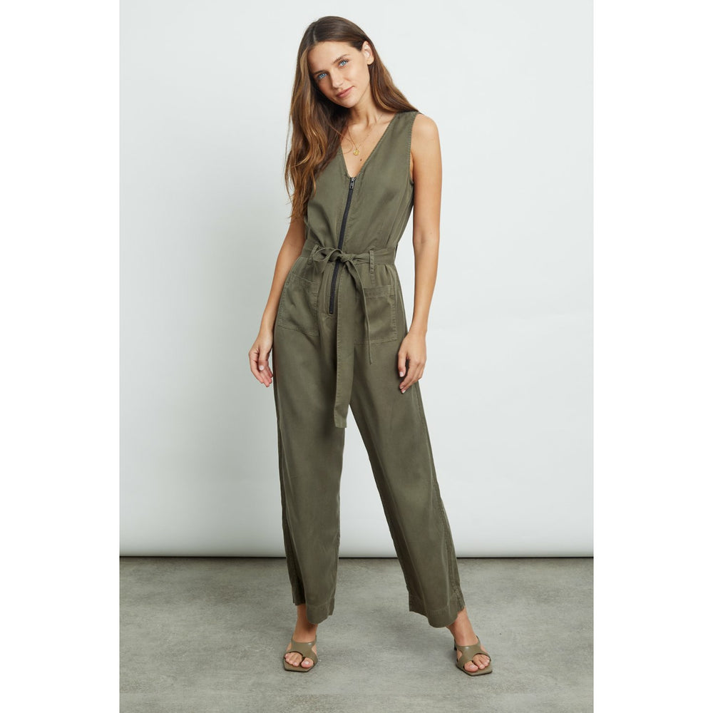 Rails Luke Romper - Military Green