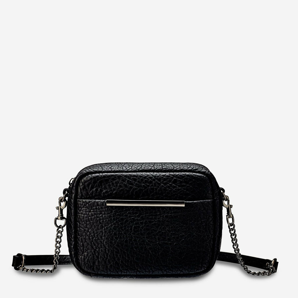 Status Anxiety Cult Bag - Black Bubble