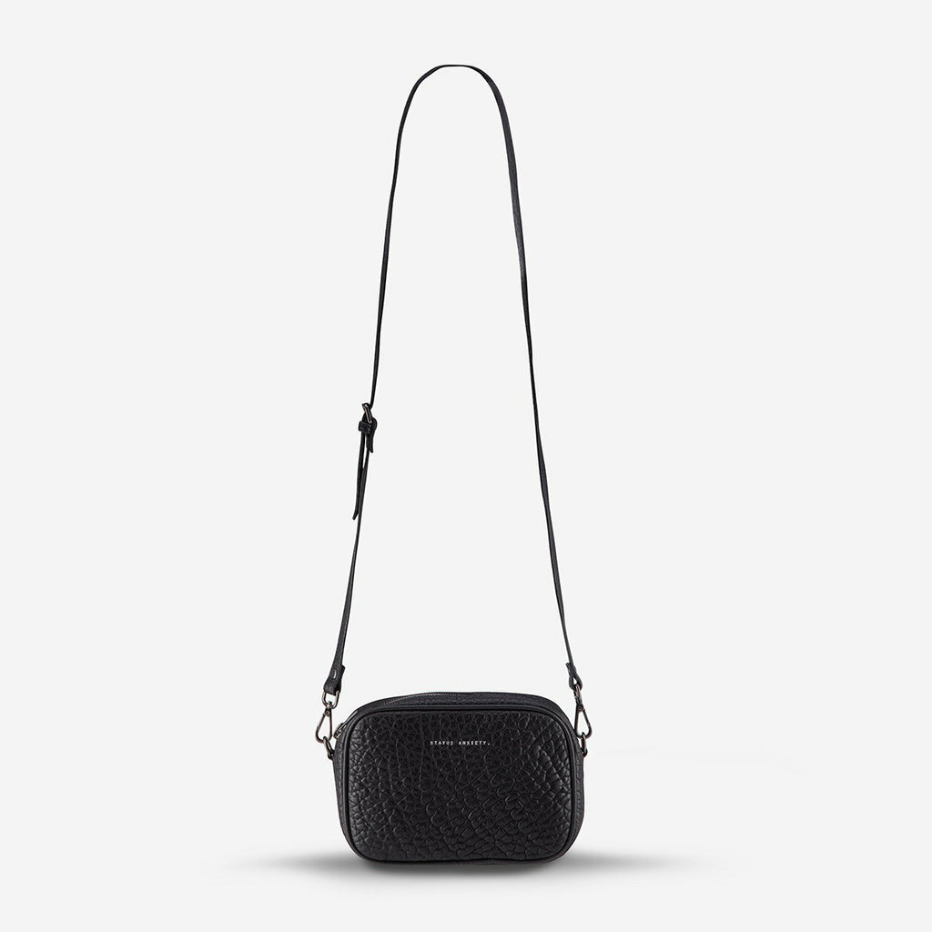 Status Anxiety Plunder Bag - Black Bubble