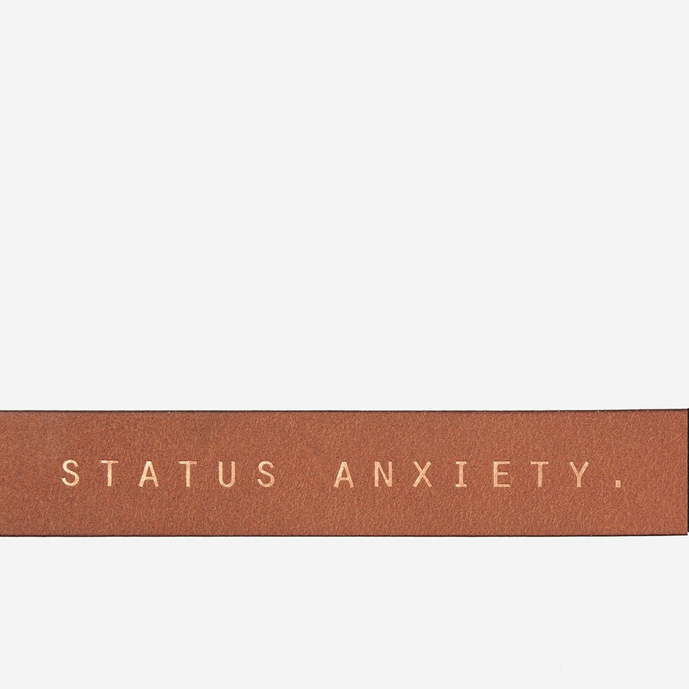 Status Anxiety Natural Corruption Belt - Tan