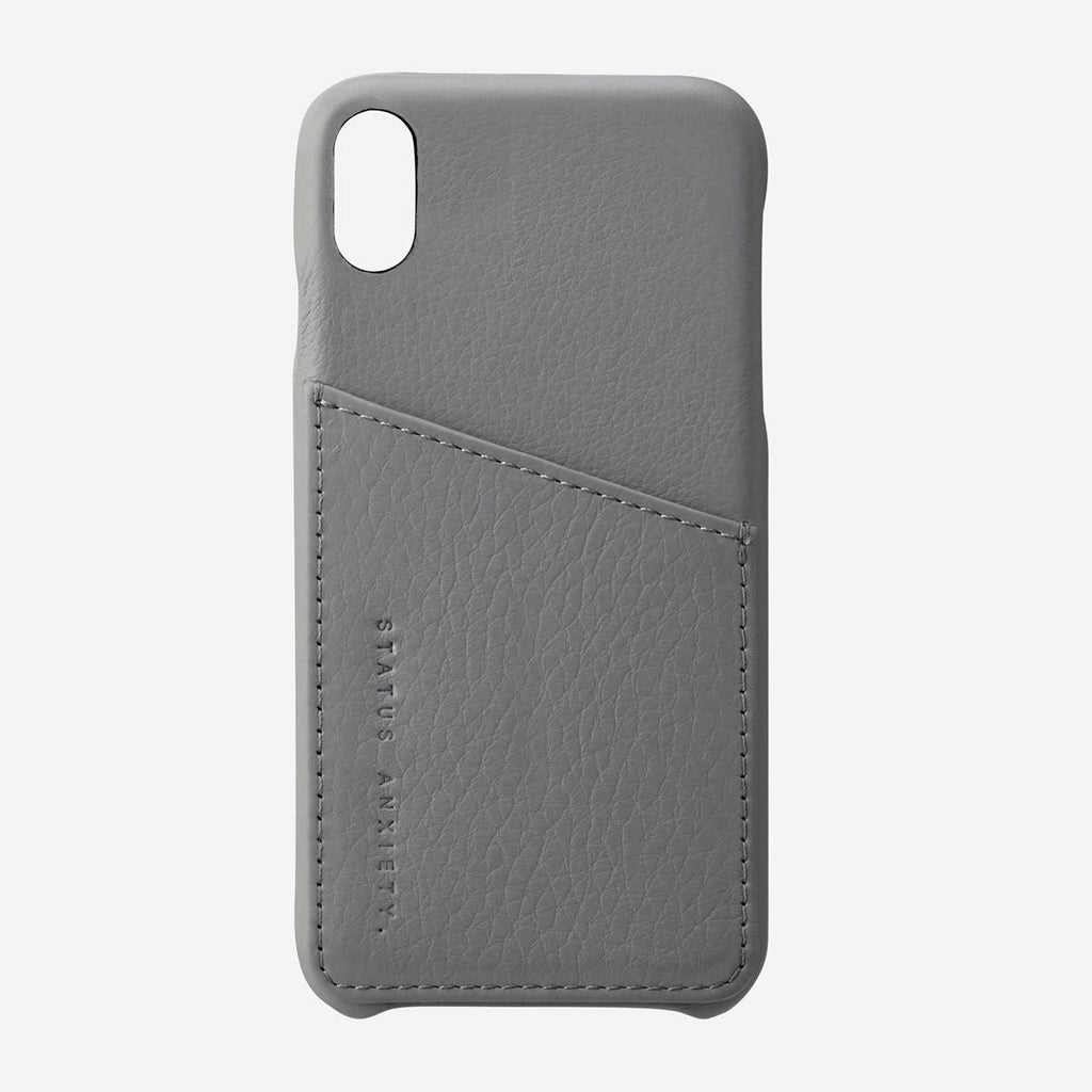 Status Anxiety Hunter & Fox Iphone X/XS Case - Light Grey