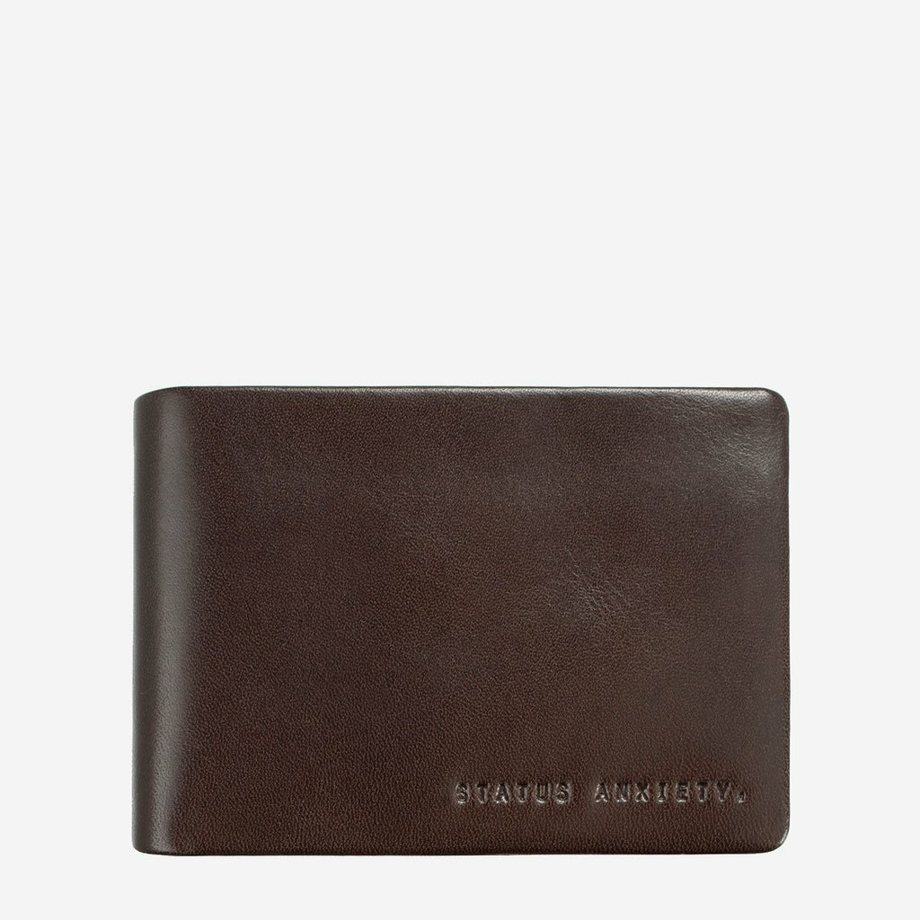 Status Anxiety Jonah Wallet - Chocolate