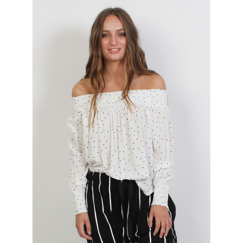 Federation Petal Top - White