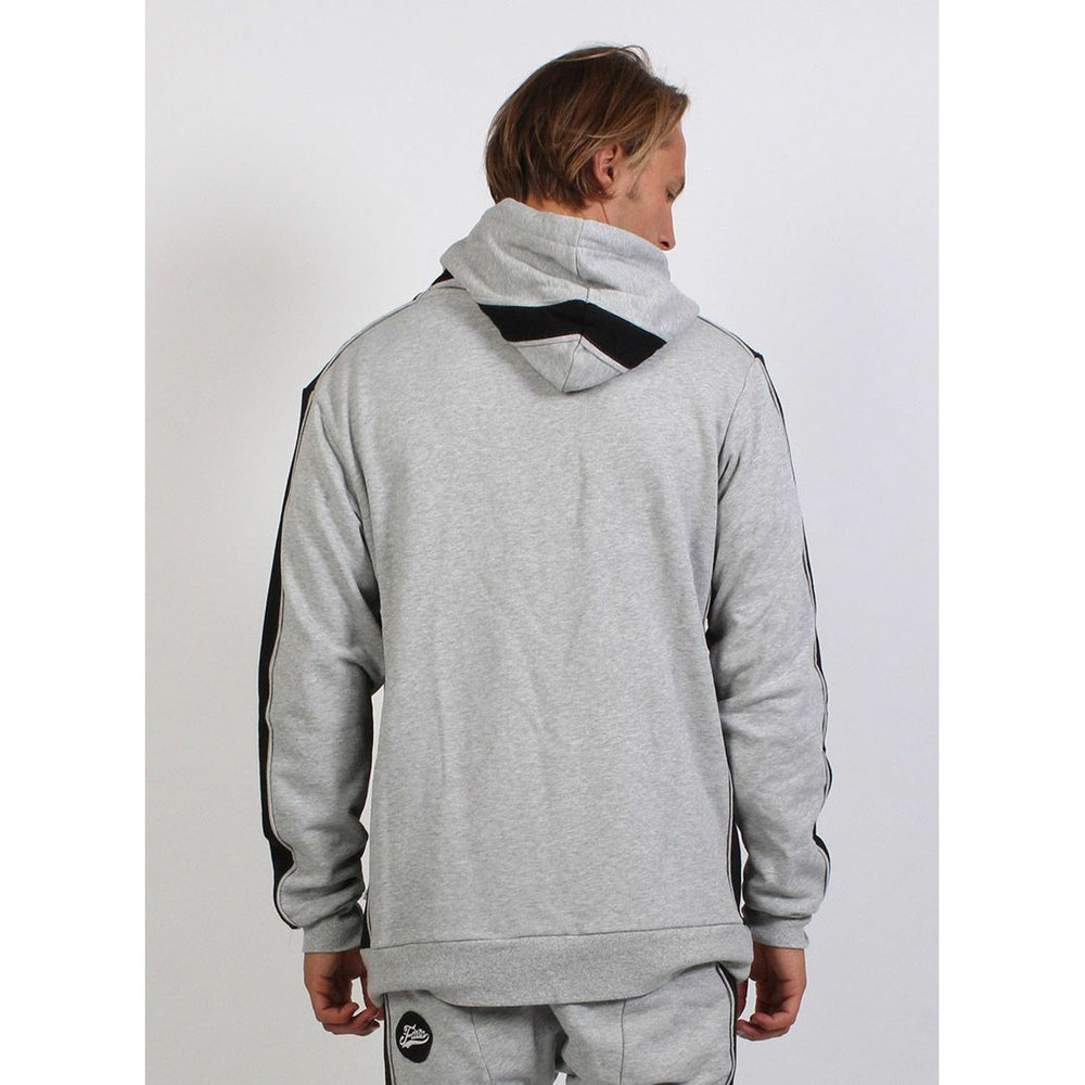 Federation Run Hoodie - Grey Marle