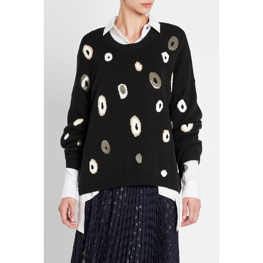 Sass and Bide Dont Change Your Spots - Black