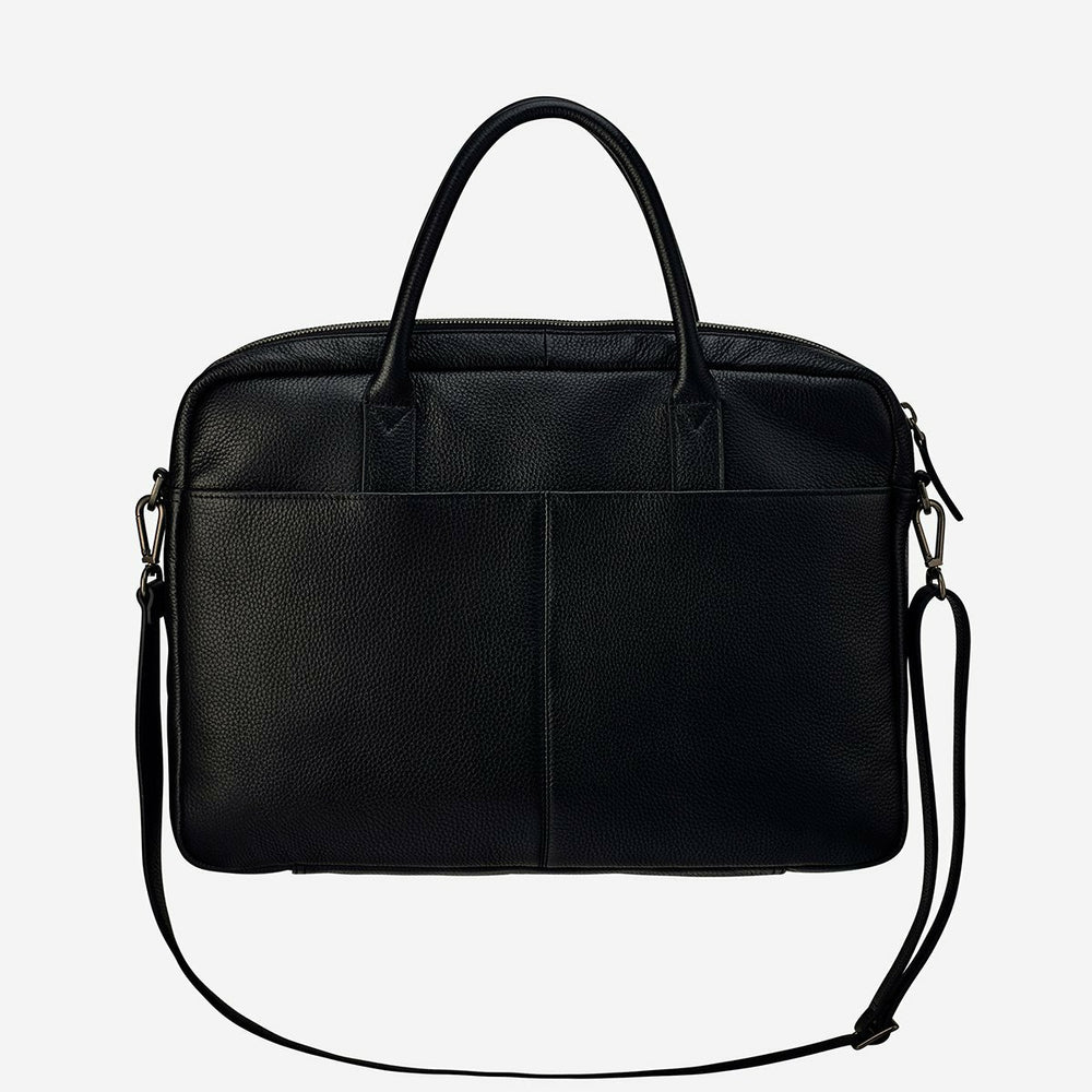 Status Anxiety Risking All Laptop Bag - Black