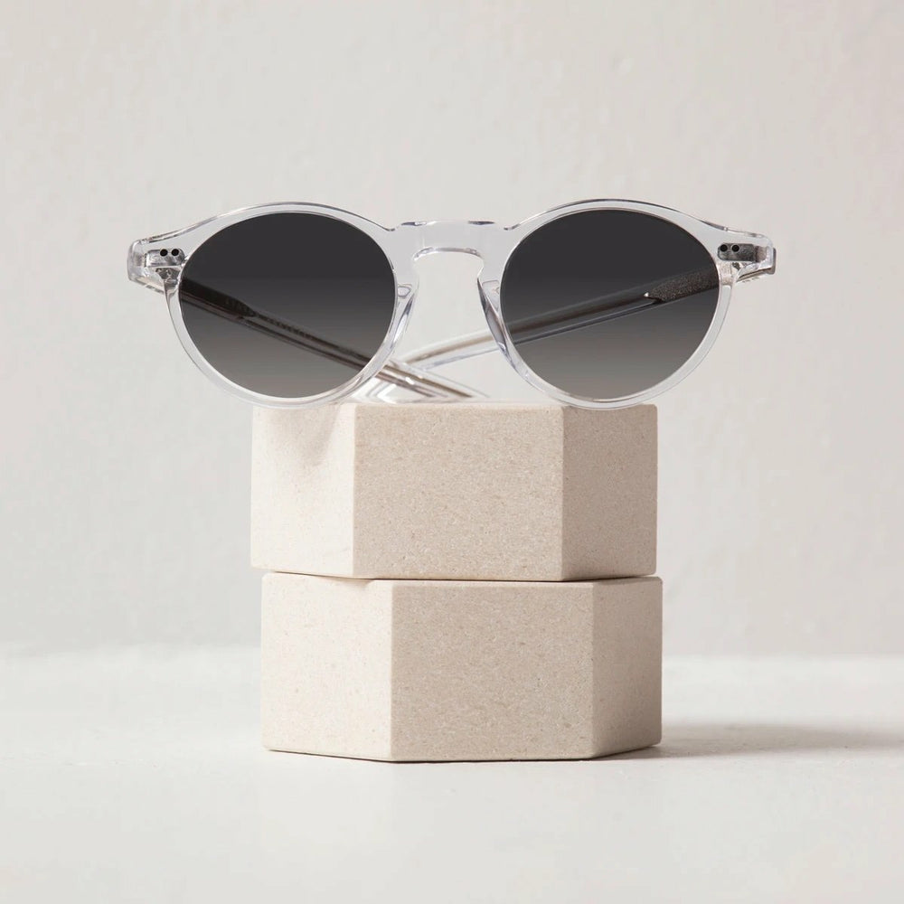 Status Anxiety Ascetic Sunglasses - Clear