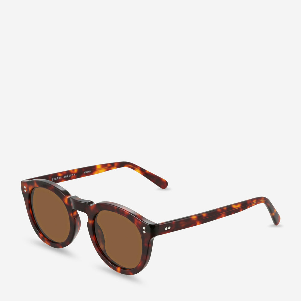 Status Anxiety Detached Sunglasses - Brown Tort