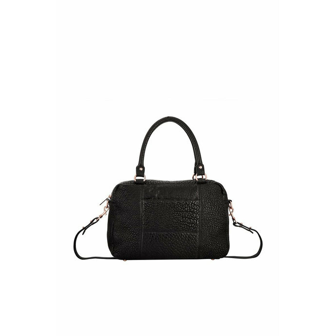 Status Anxiety War Of Obvious Handbag - Black/Rose Gold