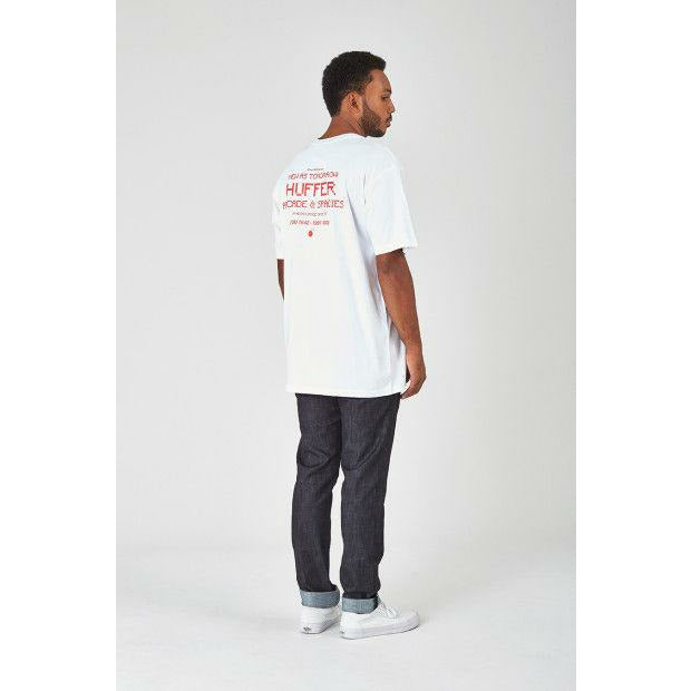 Huffer Sup Tee (Spacies) - White